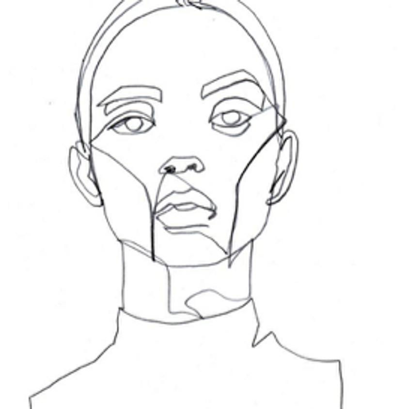 Portrait Drawing with Francesca Gagni (2)