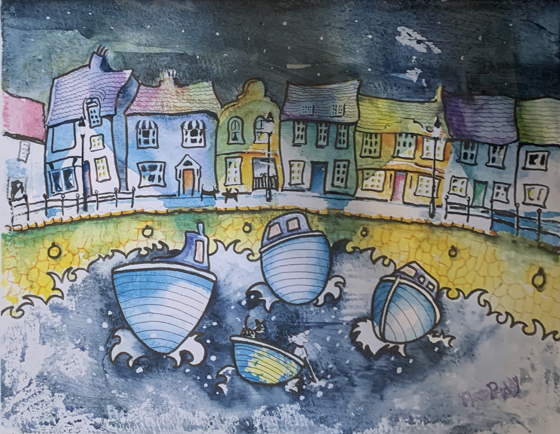 Ann Priddy - The Quay