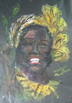 Wangari Maathai by Lauren Mitchell