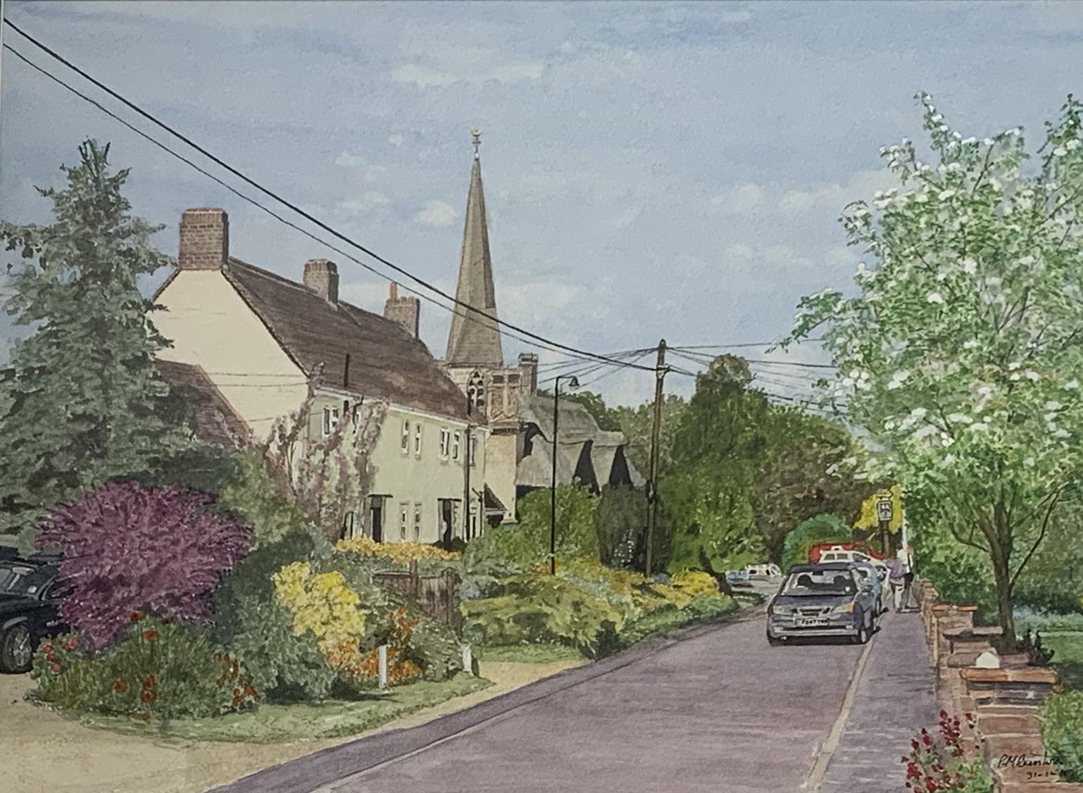 Paul Mayne Banton - Vicarage Road, Wares