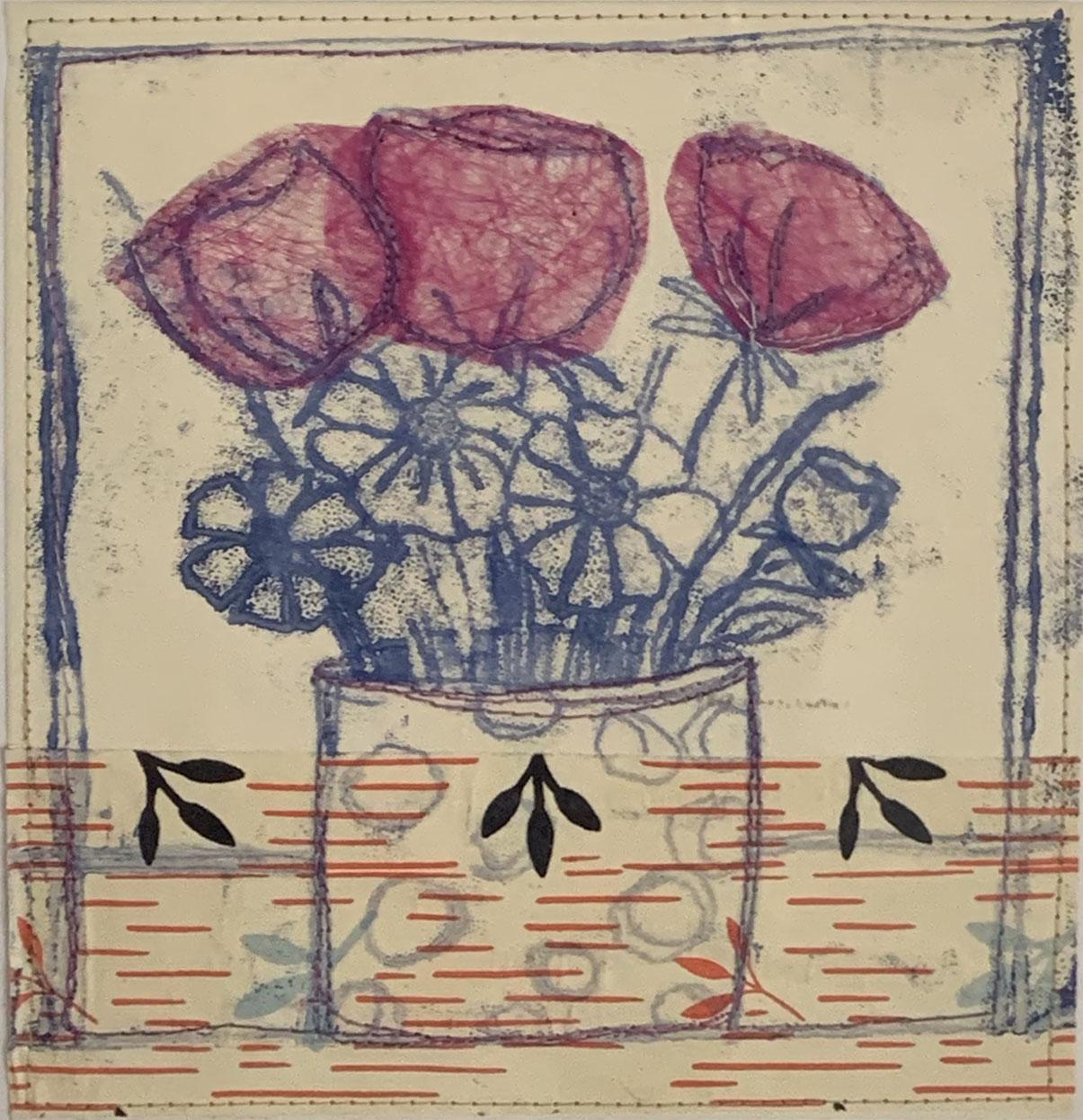 Catherine Peddel - pink flowers