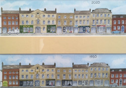 Market Square Past & Present by David St