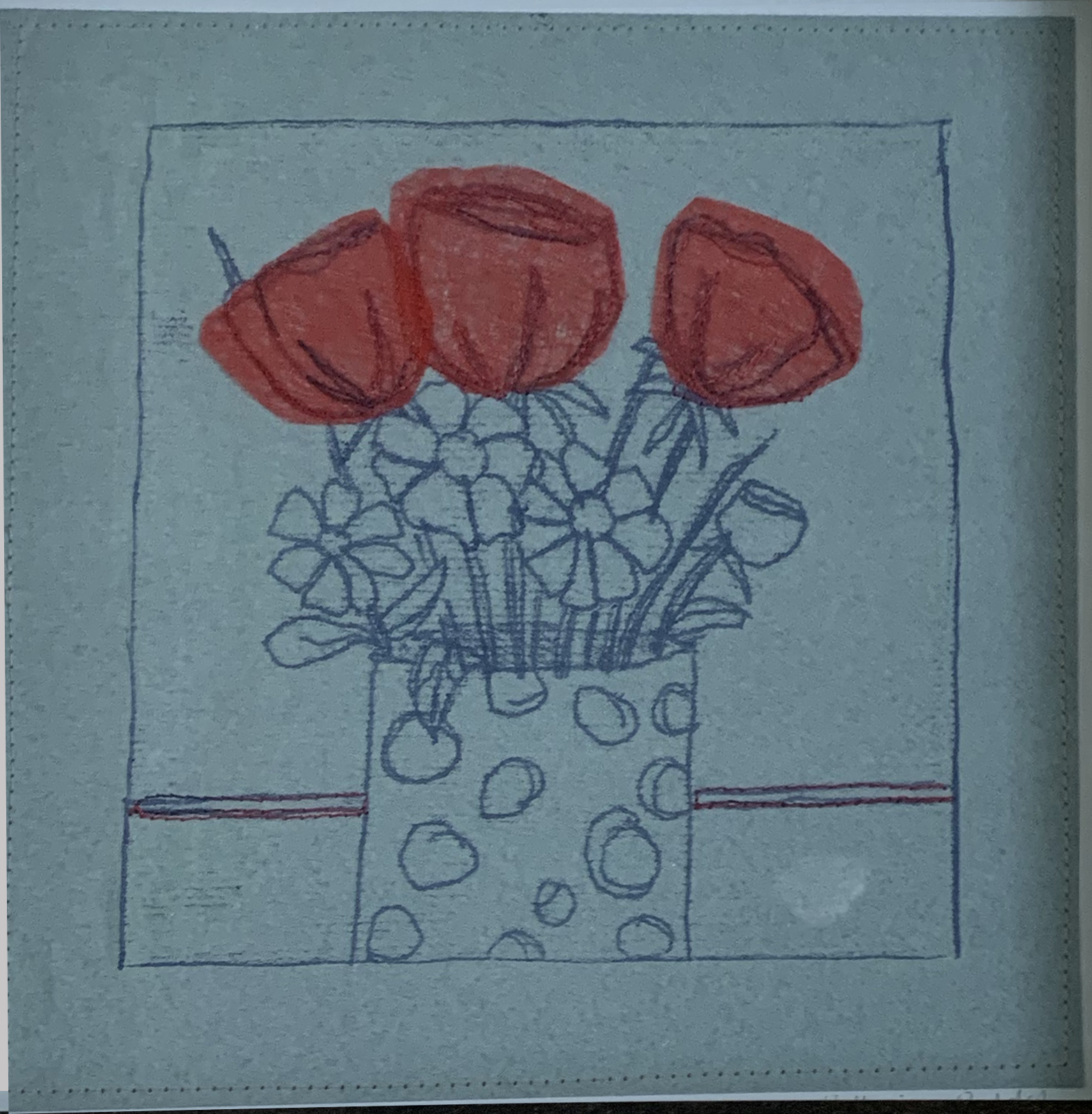 Catherine Peddel - red flowers
