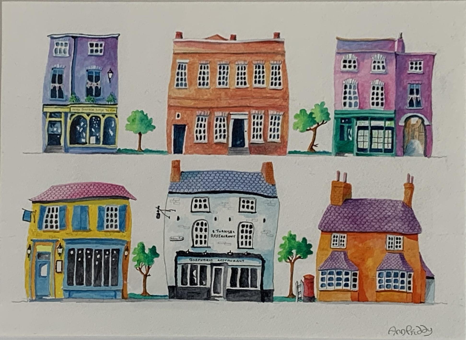 Ann Priddy - Beatiful Buildings St Neots
