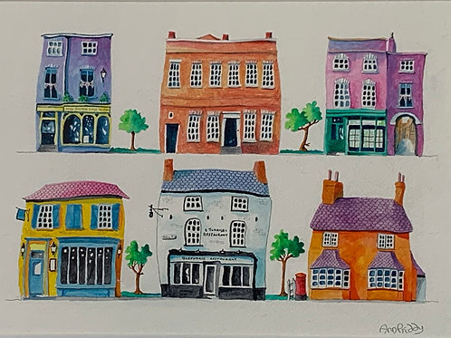 Ann Priddy - Beautiful Buildings St Neots