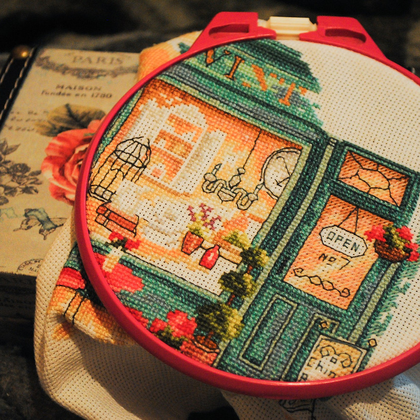 Embroidery for Beginners - 6 week course