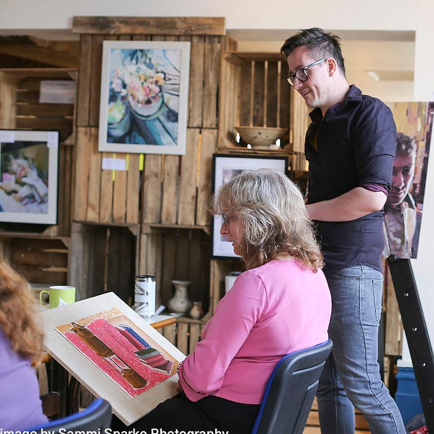 Oil Painting Portrait Workshop  (1)