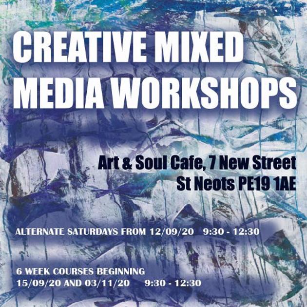 Creative Mixed Media - Lino Printing - 2 week course
