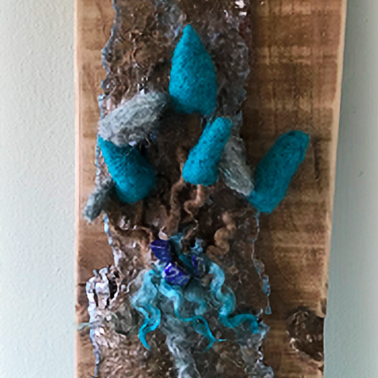 Needle Felting and Working with Nature