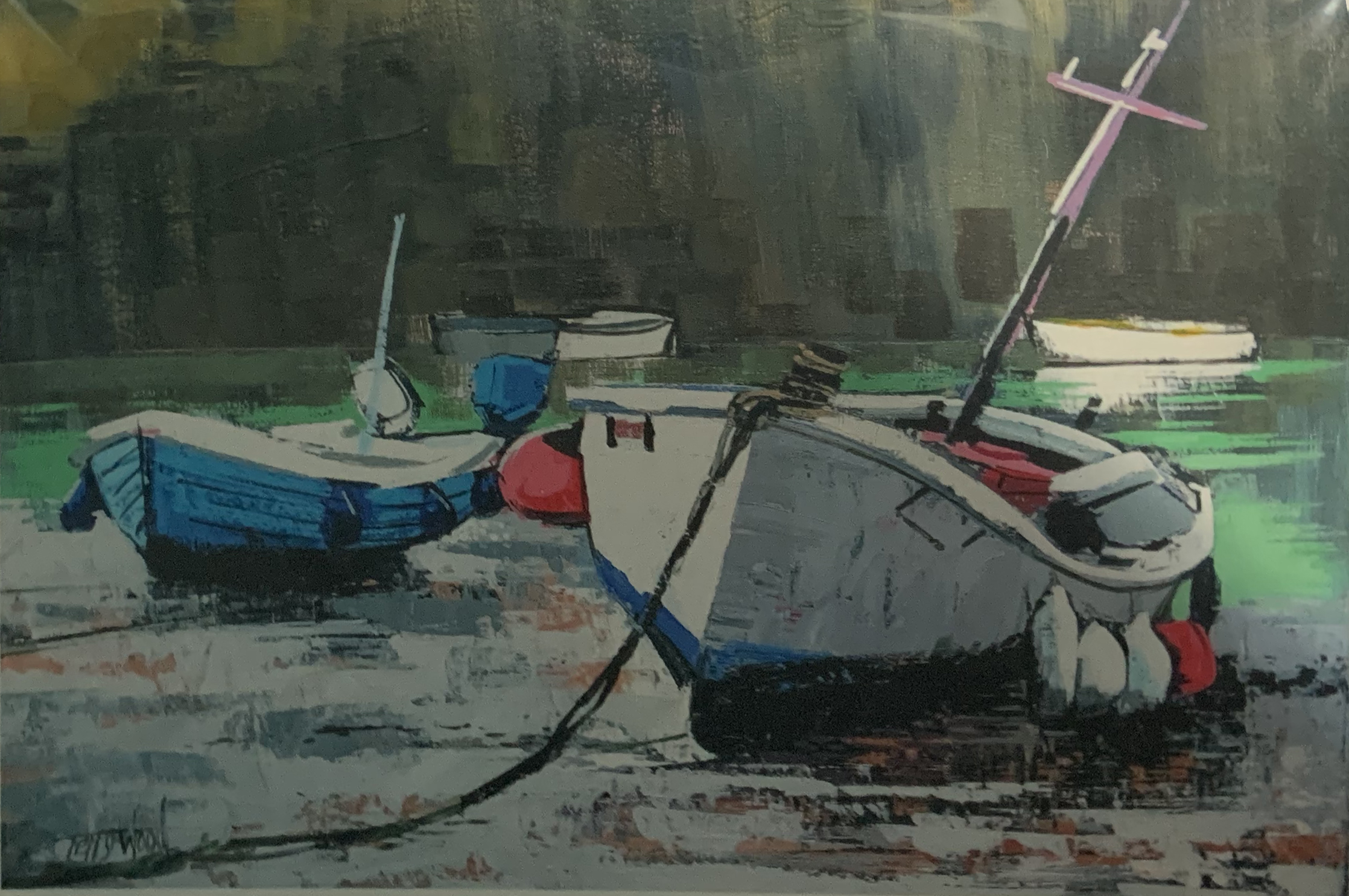 Terry Wood - Mousehole Harbour