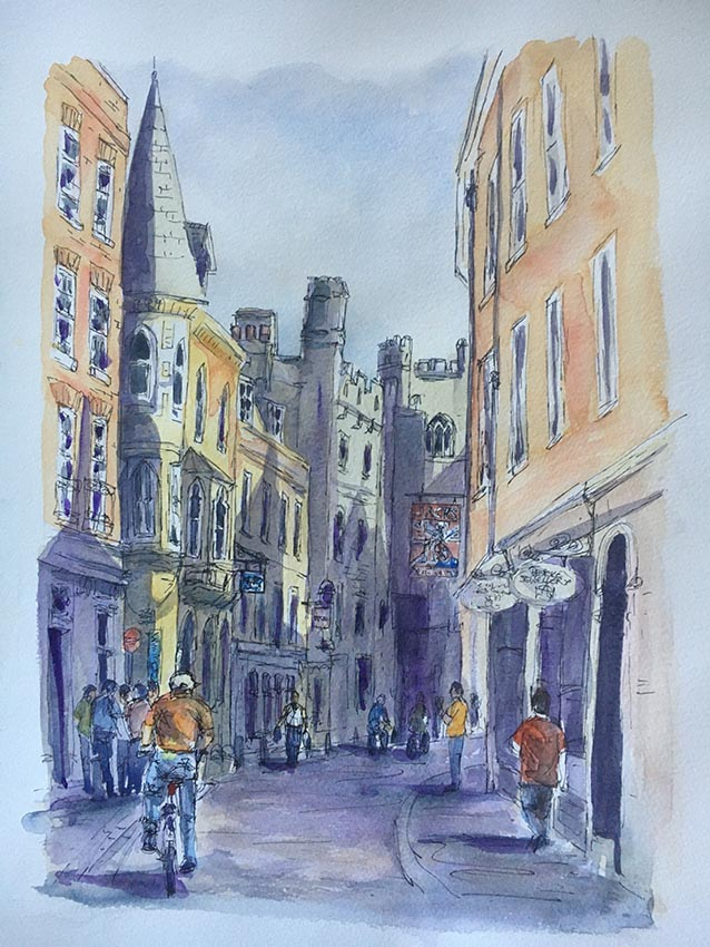 Start of Day, Trinity Street Sarah-Marie