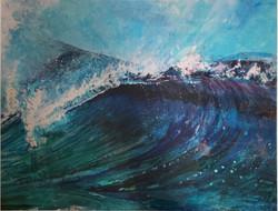 Lez Gray - Surfing waves