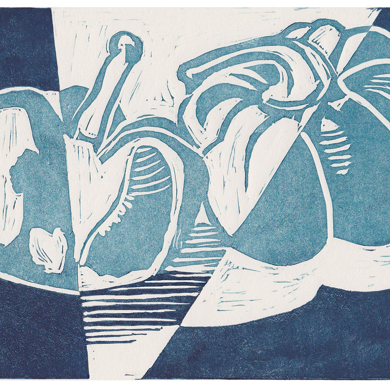 Introduction to Lino Printing - 2 week course on 9th & 16th October