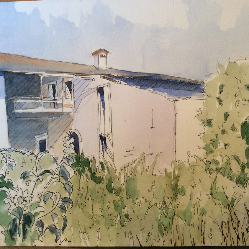 Watercolours with Francesca Gagni