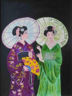 Oriental Ladies by Roger Bygraves
