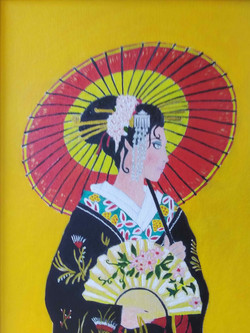Japanese Lady by Roger Bygraves