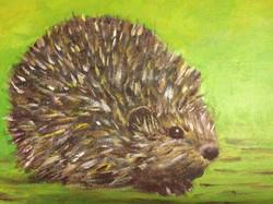 Hedgehog by Carolyn Tucker