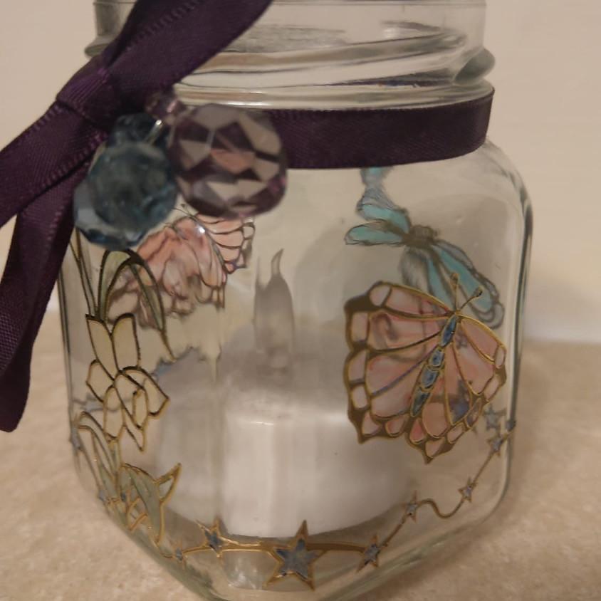 Kids Club - 'Stained Glass' Jars