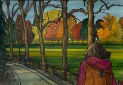 Naomi Davies - Autumn on the Backs