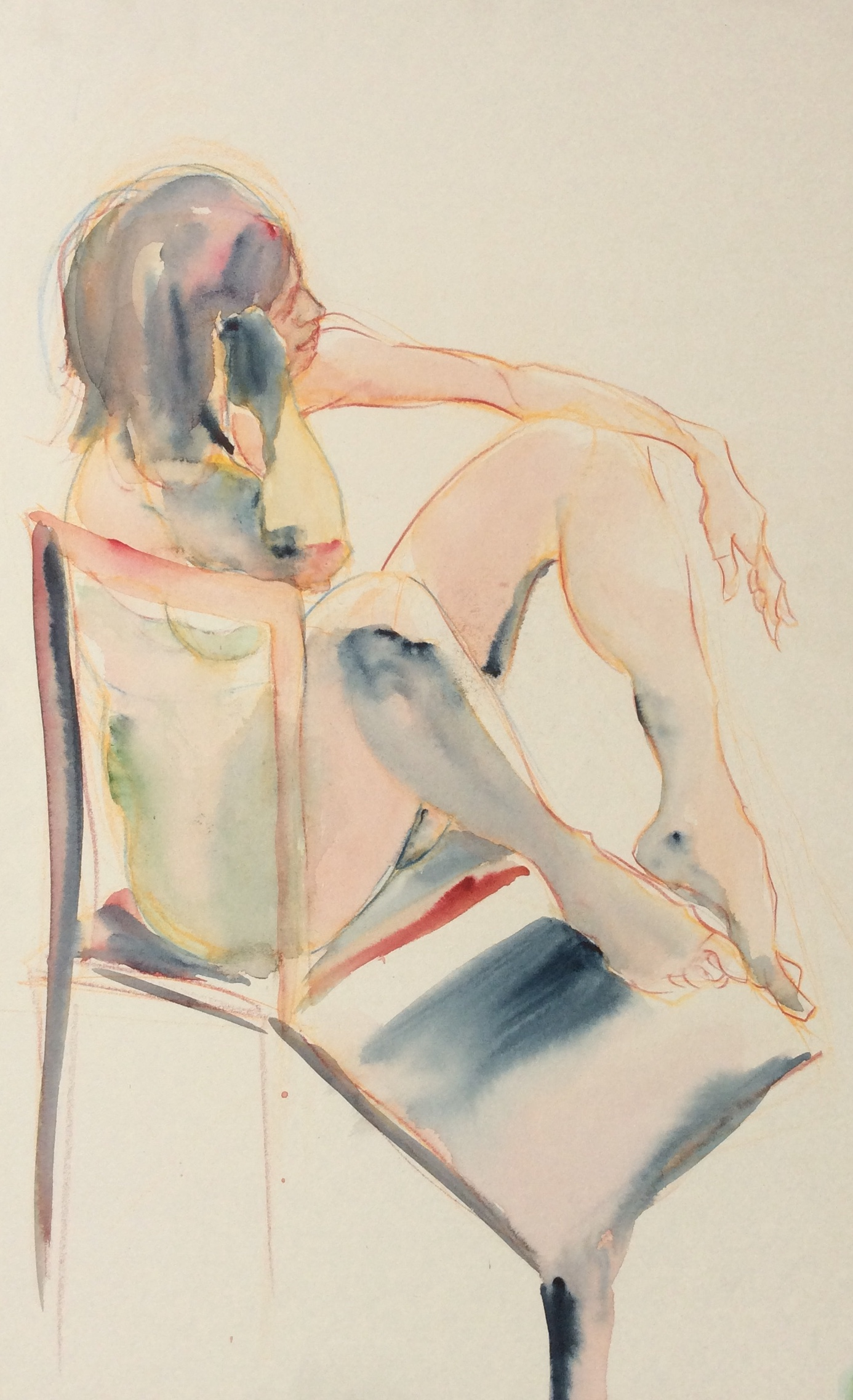 Seated Nude (Daydreaming)