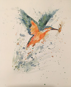 Sarah-Marie Clee Kingfisher Catch