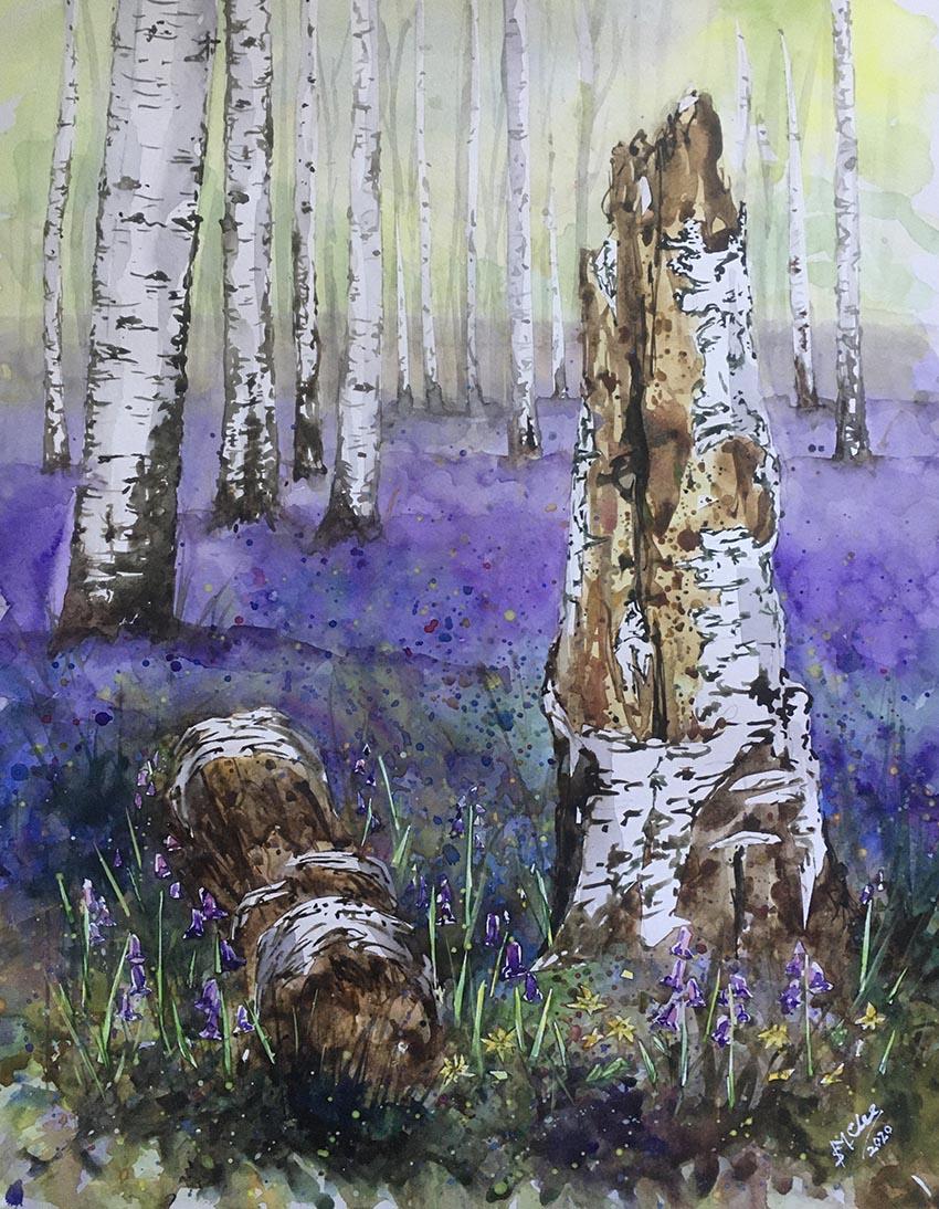 Fallen Birch Sarah-Marie Clee