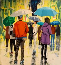 Terry Wood - People in the Rain