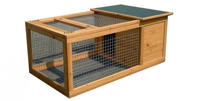 cage-bois-pour-lapin