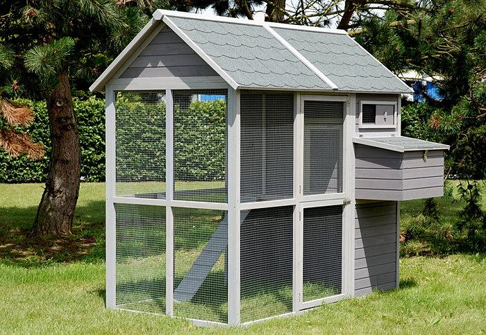 poulailler l 39 hiver poulailler. Black Bedroom Furniture Sets. Home Design Ideas