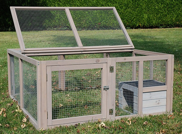 Enclos lapin en promotion par lapin en promotion for Exterieur habitat 85