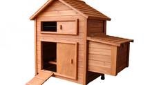 Un poulailler d'enclos...pour 2 ou 3 poules