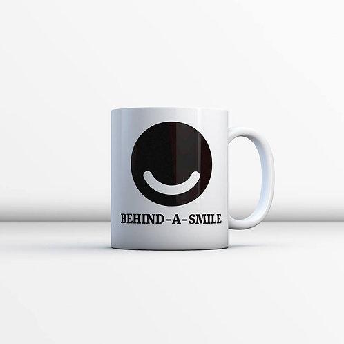 Behind a Smile Mug