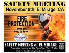 2019 SCTA Safety Seminar at El Mirage BW