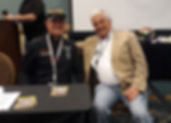 Bob Bondurant and Stand 21 Owner/Founder Yves Morizot