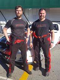 Kirk Dooley (right) with Matt Lampert's