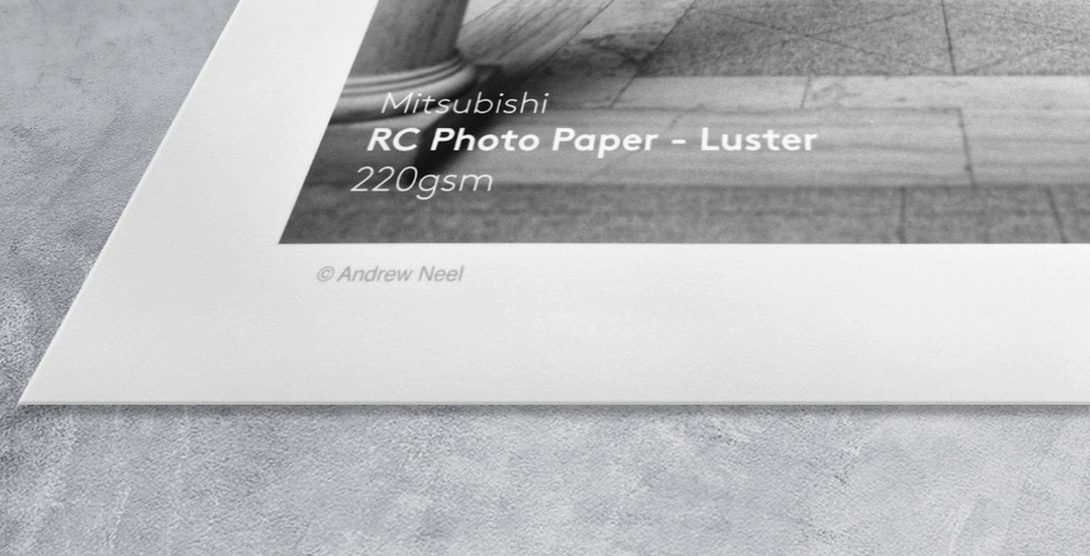 RC Photo Paper - Luster