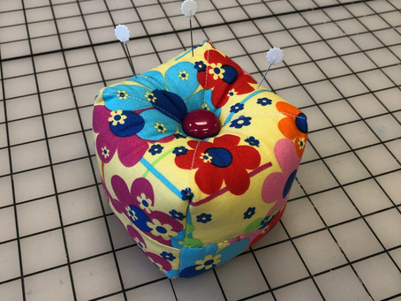 Pincushion Number One!