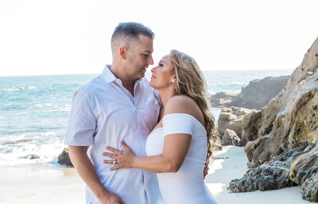 Greg and Sandy's Engagement Session - Laguna Beach, Ca.