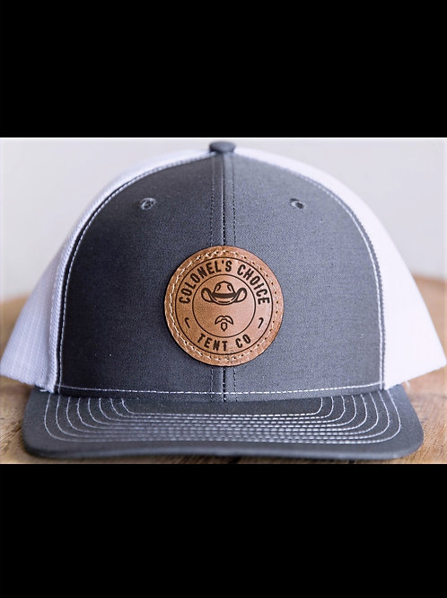 Colonel's Choice Leather Patch Hat