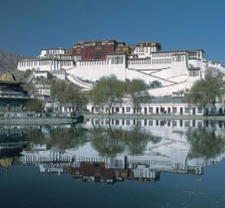 The Potala monastery palace, Lhasa, Tibe