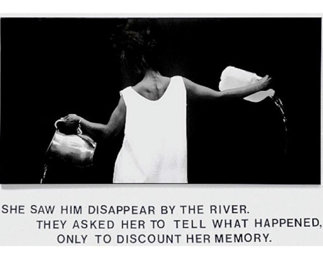 Lorna Simpson, Waterbearer, 1987
