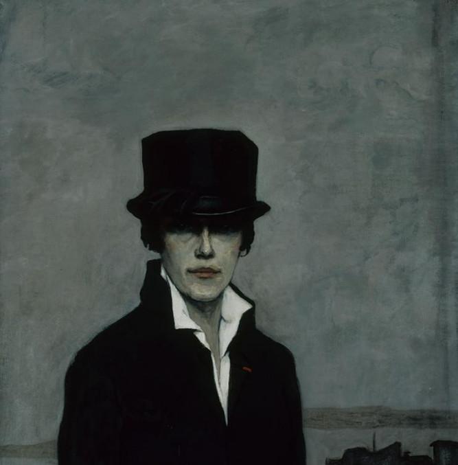 Romaine Brooks, Self-Portrait, 1923