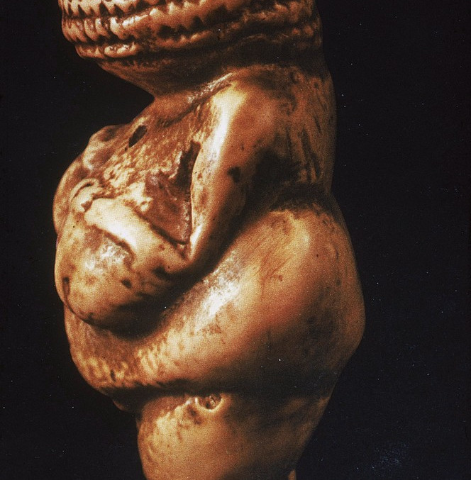 Woman (Venus) of Willendorf, 30,000-25,000 B.C.