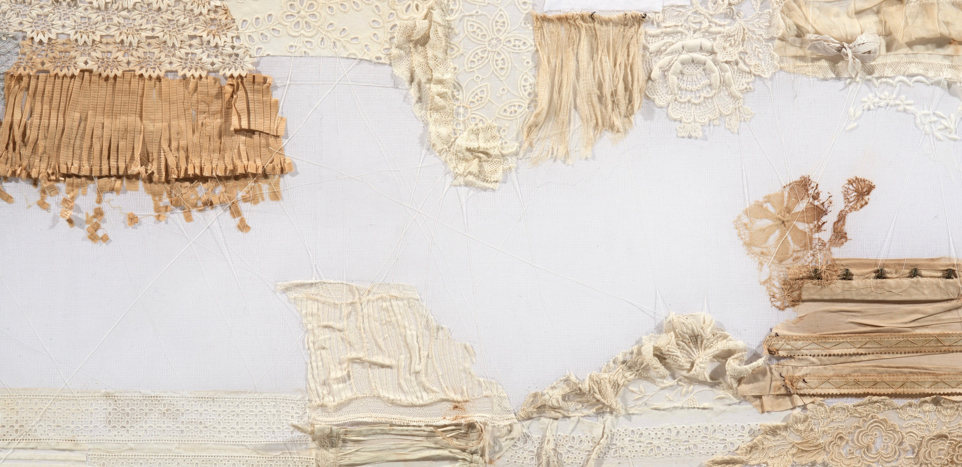 The Threads That Bind A Divided Nation, detail 1 Mason Dixon Line