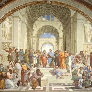 Raphael, Philosophy, School of Athens.pn