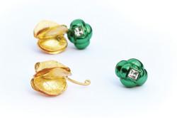 Halo Rumex earrings