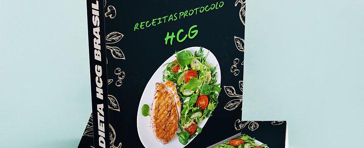 E-Book com + de 100 Receitas para Dieta HCG - Fase 2
