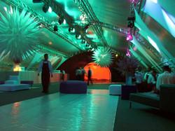 Iluminação-evento corporativo
