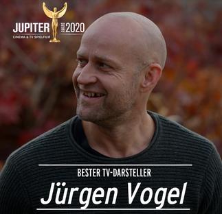 Jürgen Vogel gewinnt den Jupiter Award 2020