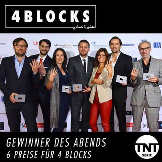 """""""4 Blocks"""" gewinnt 6 Fernsehpreise der DAfF!"""